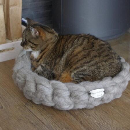 kattenmand van wol